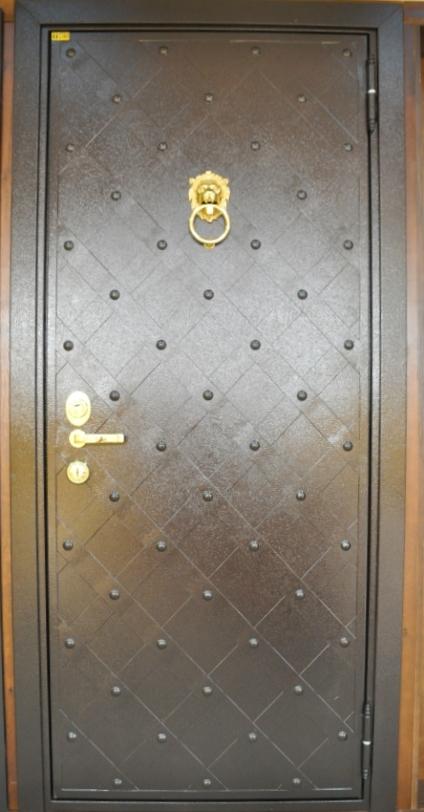 Двери стальные стал